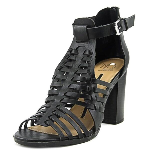 New Directions Gwynn Women Black Sandals