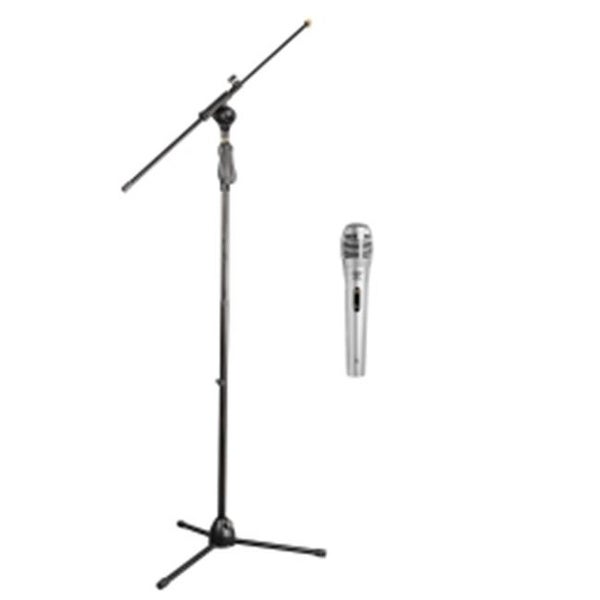 Tripod Microphone Stand with Extending Boom Professional Dynamic