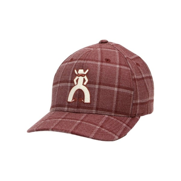 cabfa8ce86d07 ... denmark shop hooey hat mens baseball flexfit cap punchy logo gus plaid  5005 free shipping on