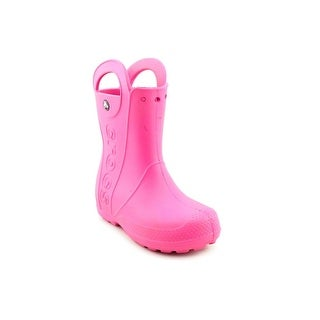 Crocs Handle It Round Toe Synthetic Rain Boot