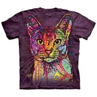 The Mountain Abyssinian Adult Short Sleeve T-Shirt