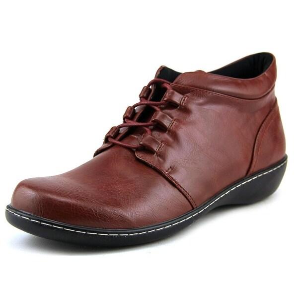 Beacon Mindy Burgundy Boots
