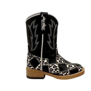 Blazin Roxx Western Boots Girl Kid Miley Zip Snip Infant 44176