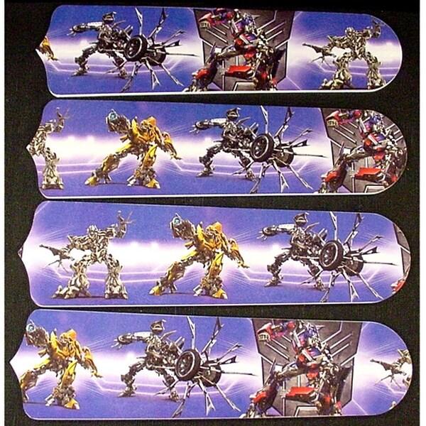Transformers Custom Designer 42in Ceiling Fan Blades Set - Multi