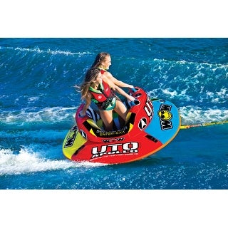 WOW Sports Uto Apollo 2 Person Towable Water Tube For Pool and Lake (18-1090 )