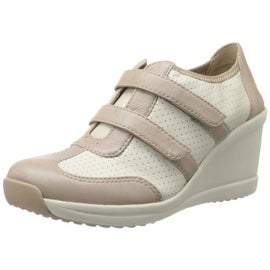 Easy Spirit Womens Leather Perforated Fashion Sneakers - 9.5 medium (b,m)