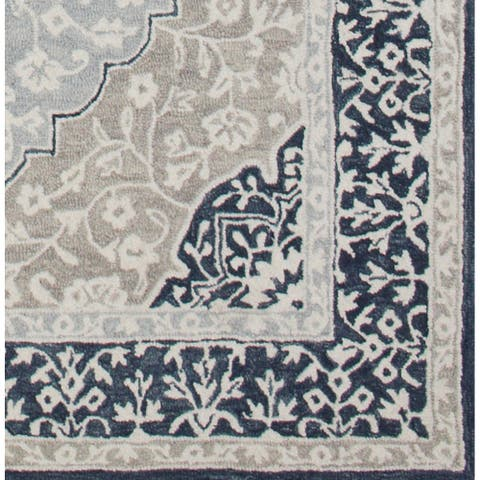 Decoriny's Couture Hand Tufted Traditional Wool Rug