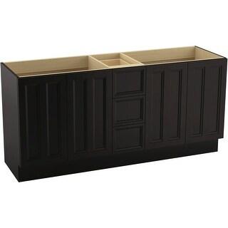 "Kohler K-99525-TK Damask 72"" Vanity Cabinet Only - Toe Kick Installation Type"