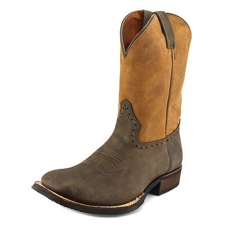 American Rebel Boot Company Whiskey Stout Men Leather Brown Western Boot