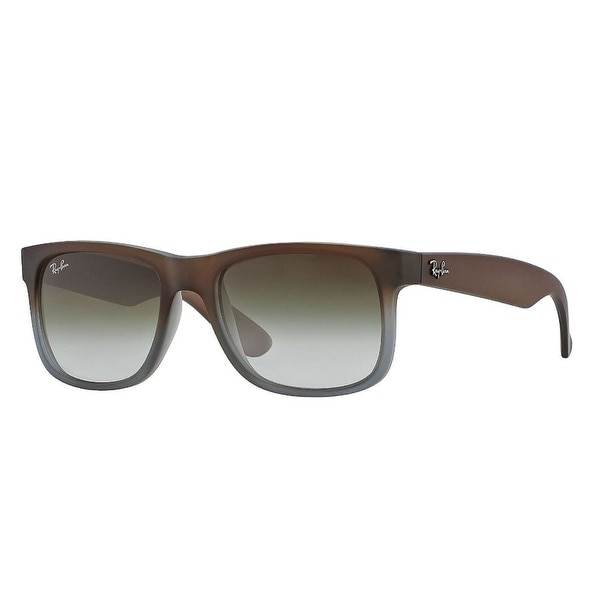 d61796279906f Ray-Ban Rb4165 Square Non-Polarized Sunglasses Brown On Grey 55Mm - One Size