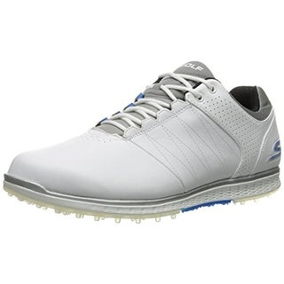 Skechers Mens Go Golf Leather Lightweight Golf Shoes