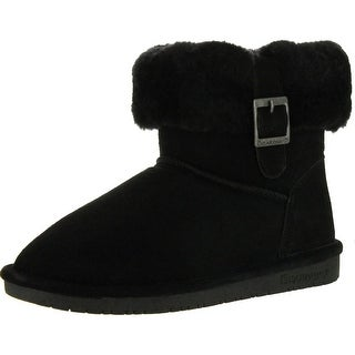 Bearpaw Womens Abby 1257W Suede Boots