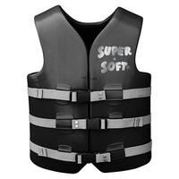 TRC Recreation Super-Soft USCG Adult Vest Small - Black  1022516