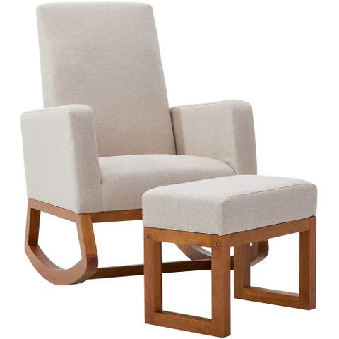 Rocking Chair Mid Century Accent Chair