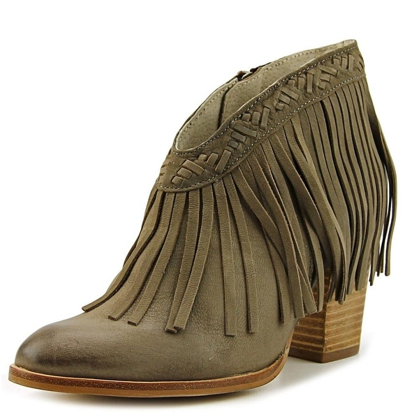 Seychelles World Tour Women Round Toe Leather Tan Ankle Boot