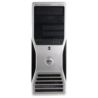 Dell Precision T3400 Workstation Tower Intel Core 2 Quad Q6600 2.4G 4GB DDR2 1TB Windows 10 Pro 1 Year Warranty (Refurbished)