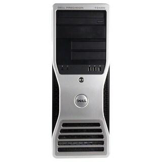 Dell Precision T3400 Workstation Tower Intel Core 2 Quad Q6600 2.4G 4GB DDR2 1TB Windows 7 Pro 1 Year Warranty (Refurbished)