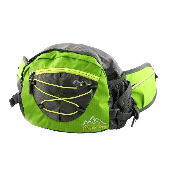 Clever Bees Authorized Outdoor Backpack Shoulder Pack Sports Waist Bag Green