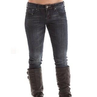Cowgirl Tuff Western Denim Jeans Womens Diva Straight Leg Dk JDVSTA