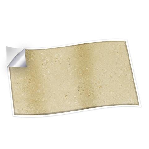 Walplus Beige Travertine Wall Peel and Stick Backsplash Tile Stickers
