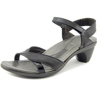 Naot Cheer Women Open Toe Synthetic Black Sandals