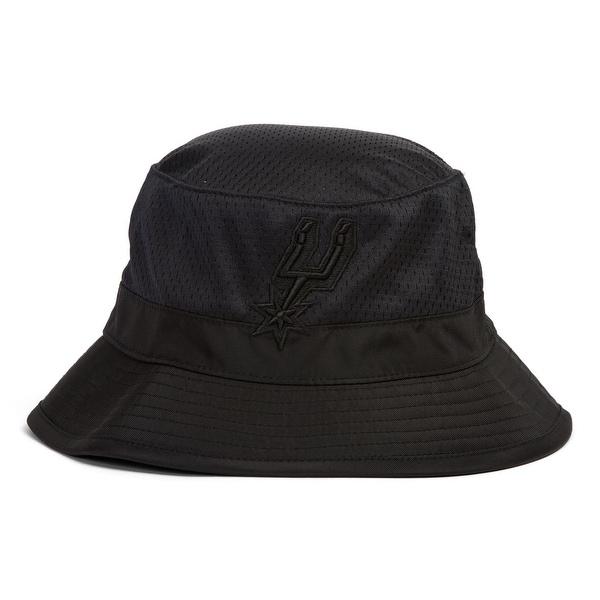 608758ad2 Mitchell & Ness San Antonio Spurs Tonal Jersey Mesh Bucket Hat