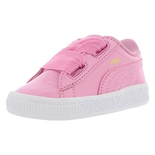 Puma Basket Heart Patent Casual Infant's Shoes - 10 m us toddler