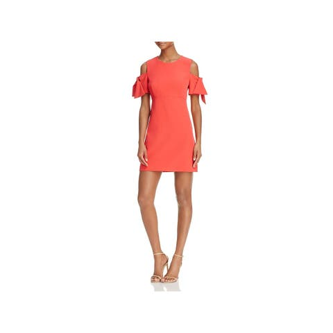 Milly Womens Party Dress Cold Shoulder Mini 08db4d7ee4