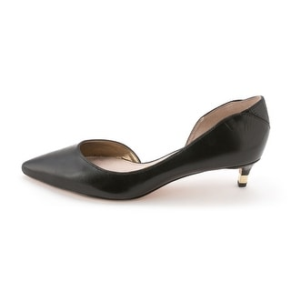 Sam Edelman Womens Linda Leather Pointed Toe D-orsay Pumps