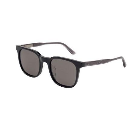 Bv0022Sa 001 Black Frame Sunglasses With Grey Polarized Lenses