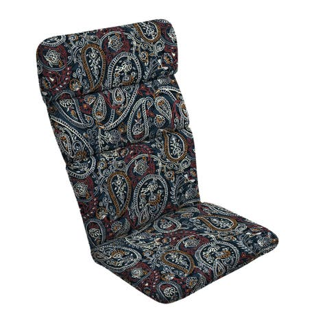 Arden Selections Palmira Paisley Outdoor Adirondack Chair Cushion - 45.5 in L x 20 in W x 2.25 in H