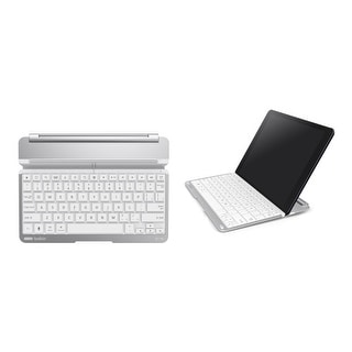 Belkin Thin Type Keyboard Cover Case for Apple iPad Air (White)