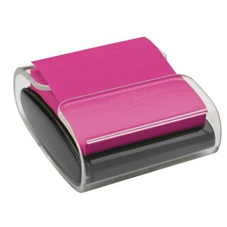 Post-it Pop-up Notes Wrap Dispenser, 3 x 3 Inches, Black