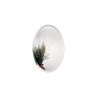 Alno 9567-102 24 x 36 Inch Frameless Oval Mirror - N/A