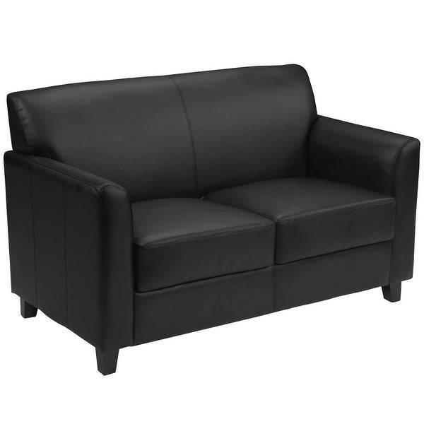 HERCULES Diplomat Series LeatherSoft Loveseat with Clean Line Stitched Frame. Opens flyout.