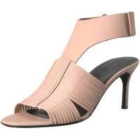 Via Spiga Women's JUSTINE2 Woven Heel Heeled Sandal