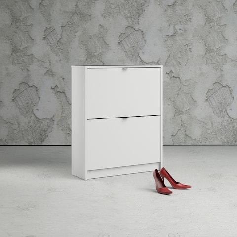 Porch & Den Cambria 2-drawer Shoe Cabinet