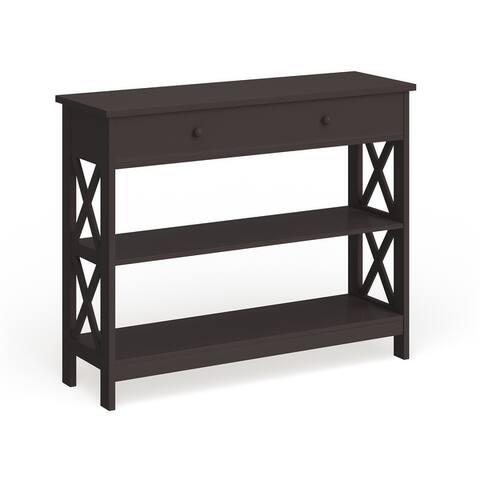 Copper Grove Cranesbill 1-drawer Console Table
