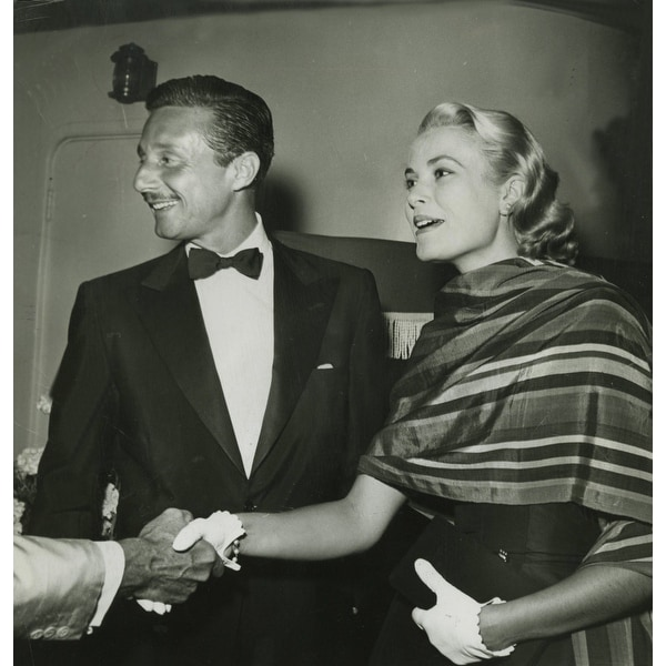 d6cc82591a Grace Kelly shaking hands and Oleg Cassini Photo Print