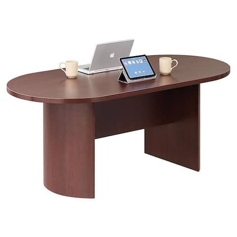 """Copper Grove Flemming 72-inch Oval Conference Table - 72"""" x 36"""" x 29"""""""