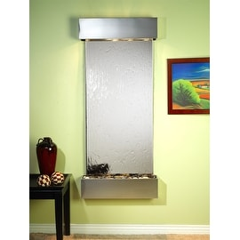 Adagio Inspiration Falls Fountain w/ Silver Mirror in Stainless Steel Finish