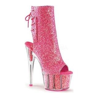 Shop Damens's Pleaser Flamingo Flamingo Pleaser 1018UV Ankle Boot Neon Hot Pink Patent ... d178f9