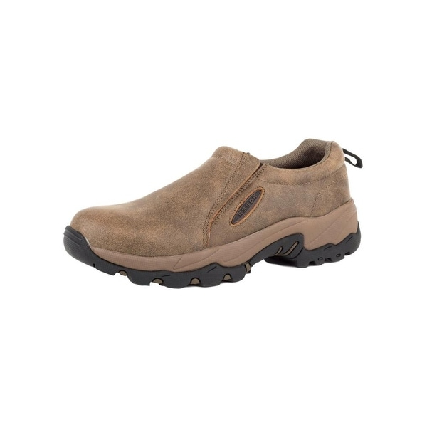 Roper Western Shoes Mens Perform Sport Slip-On Tan