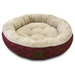 American Kennel ClubA AKC3198 Extra Large Round Pet Bed, Assorted Colors