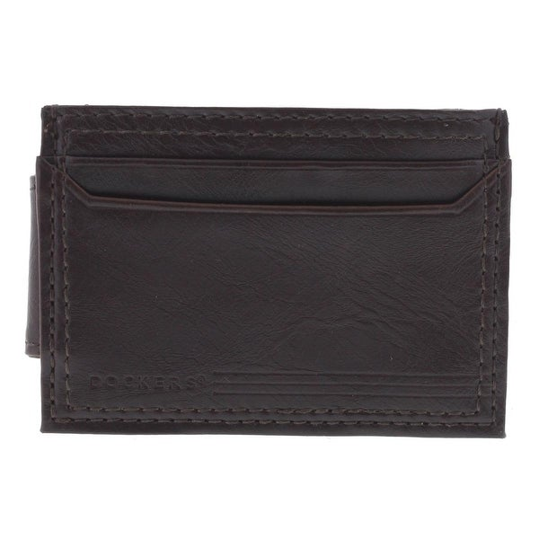 Dockers Mens Card Case Slim Magnetic Clip - o/s
