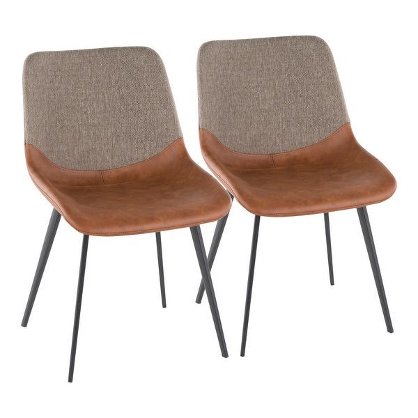 Carson Carrington Viktorp Industrial Two-Tone Chair (Set of 2). Opens flyout.