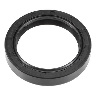 Oil Seal, TC 45mm x 60mm x 10mm, Nitrile Rubber Cover Double Lip - 45mmx60mmx10mm