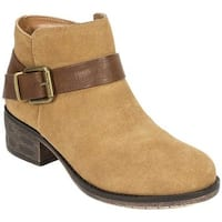 White Mountain Women's Mistral Ankle Boot Chestnut Suede