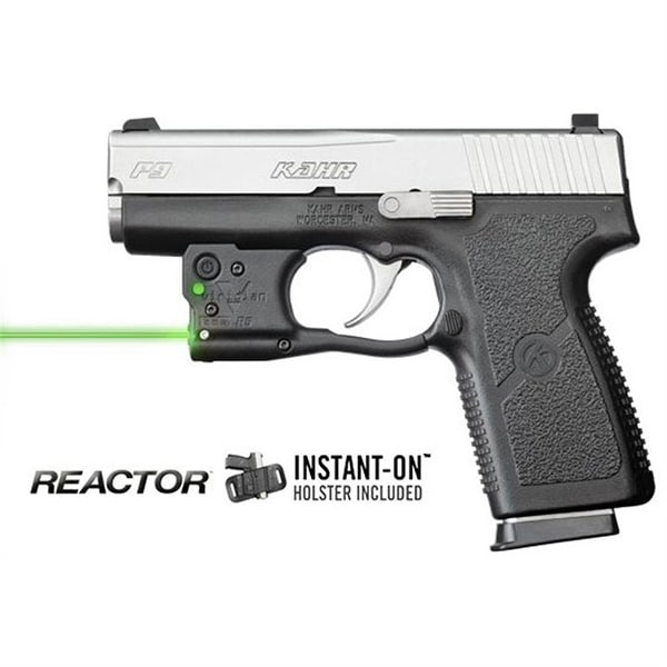 Viridian Reactor 5 Green Laser Sight For Kahr Pm & Cw 9/40 Featuring Ecr Incl. Hybrid Belt Holst