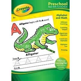 Bendon Publishing Crayola Preschool Basic Skills Activity Book